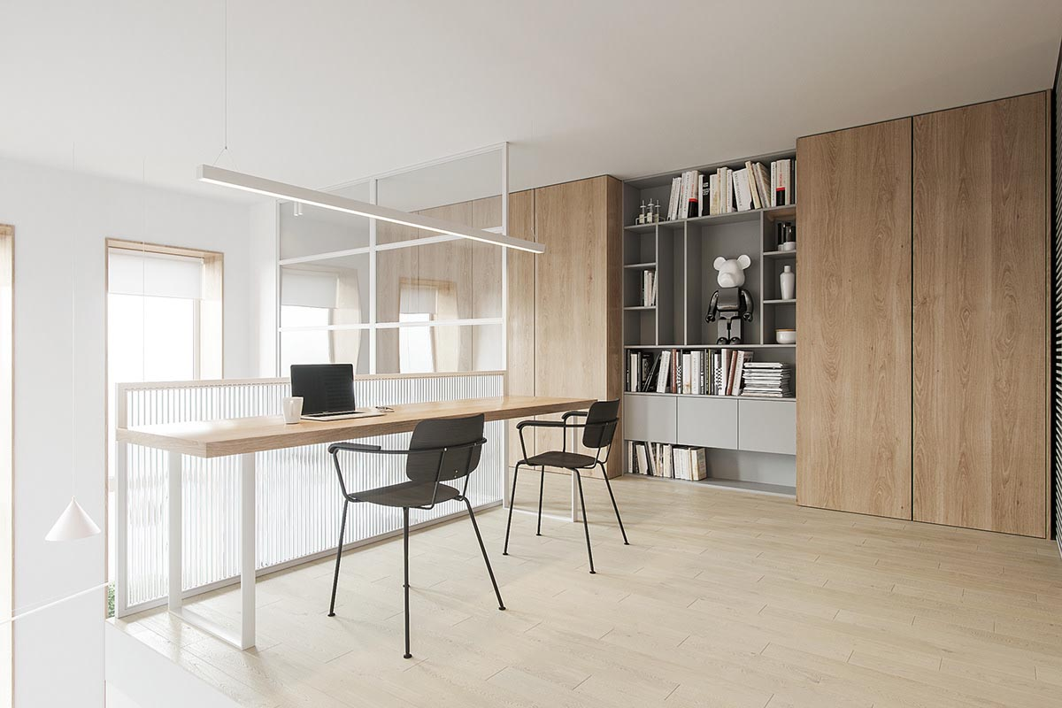 طراحی آپارتمان با تم صورتی