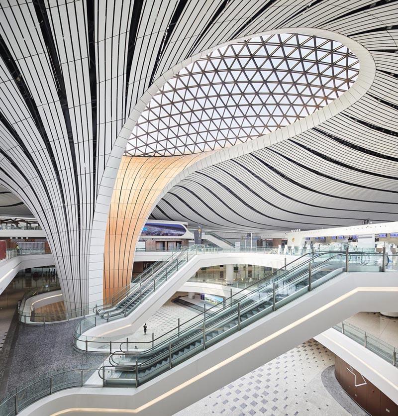 طراحی فرودگاه بین المللی پکن