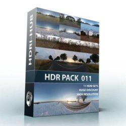دانلود HDRI جاده برفی