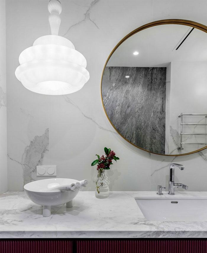 طراحی داخلی آپارتمان شیک