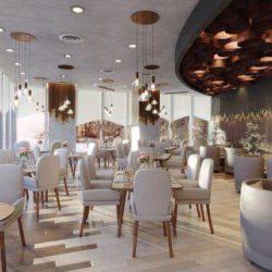 دانلود آرچ اینتریور 52 – صحنه آماده داخلی کافه و رستوران