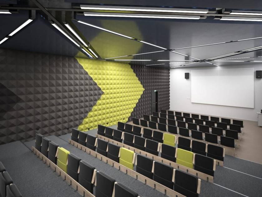 دانلود آرچ اینتریور 53 - صحنه آماده داخلی سالن کنفرانس