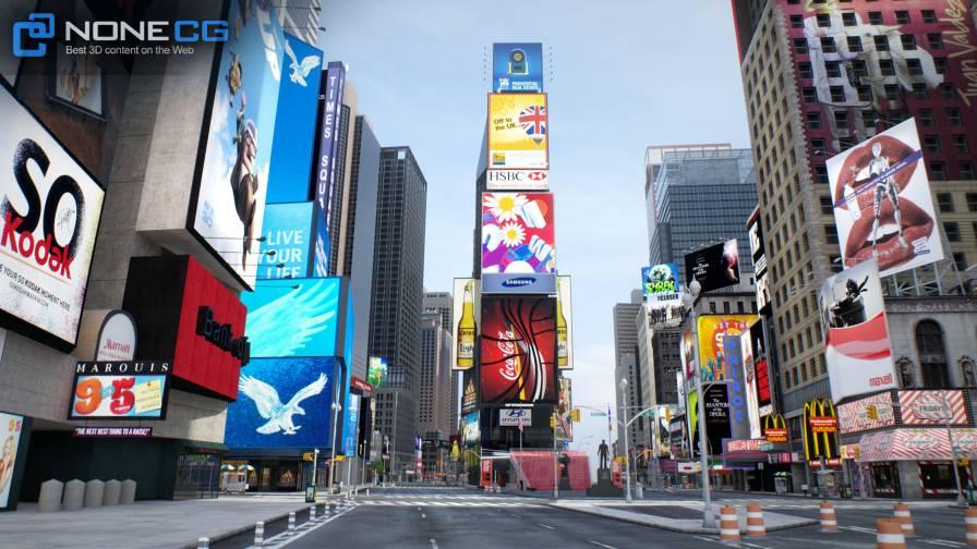 مدل سه بعدی شهر نیویورک