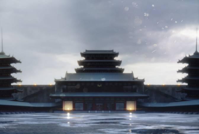مدل سه بعدی ساختمان های ژاپنی