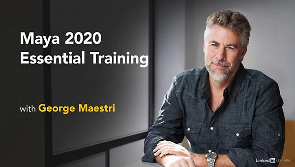 آموزش مهارت های ضروری مایا 2020
