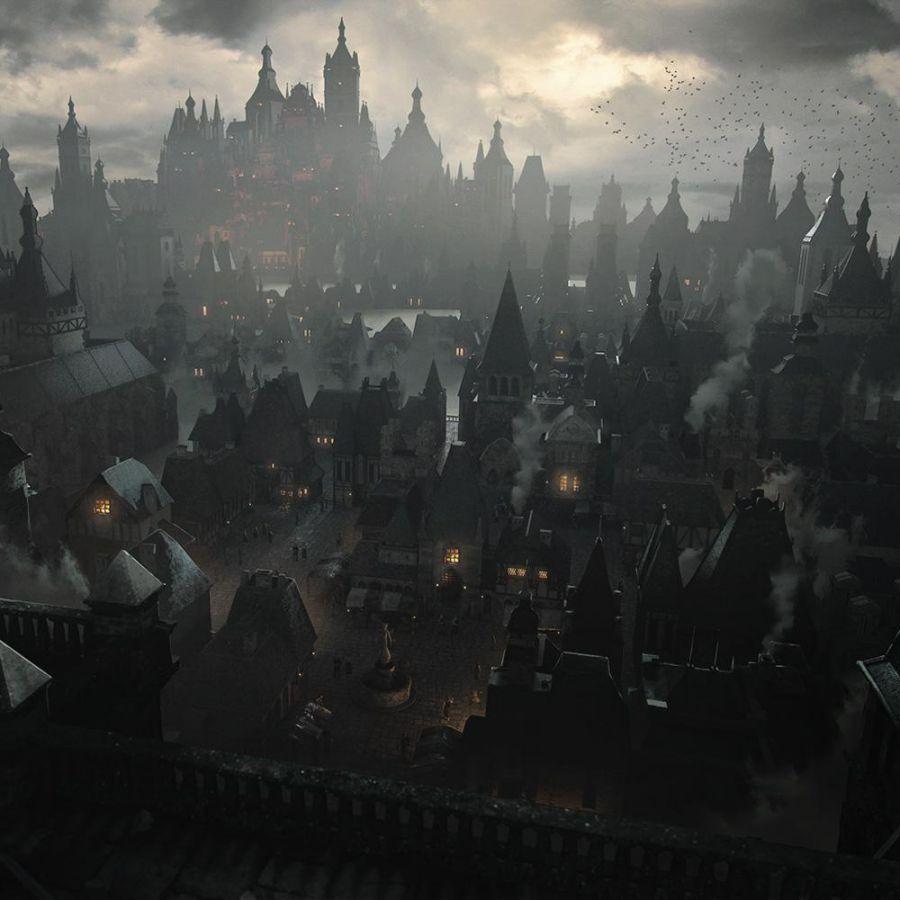 دانلود مدل سه بعدی شهر قدیمی