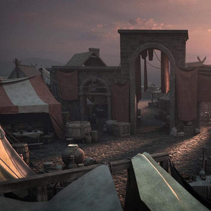 آبجکت بازار قرون وسطا