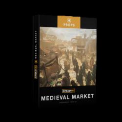 دانلود مدل سه بعدی بازار قدیمی