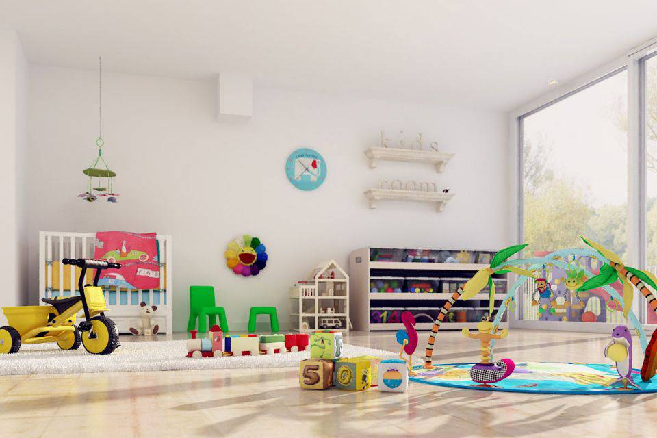 آبجکت اسباب بازی کودک