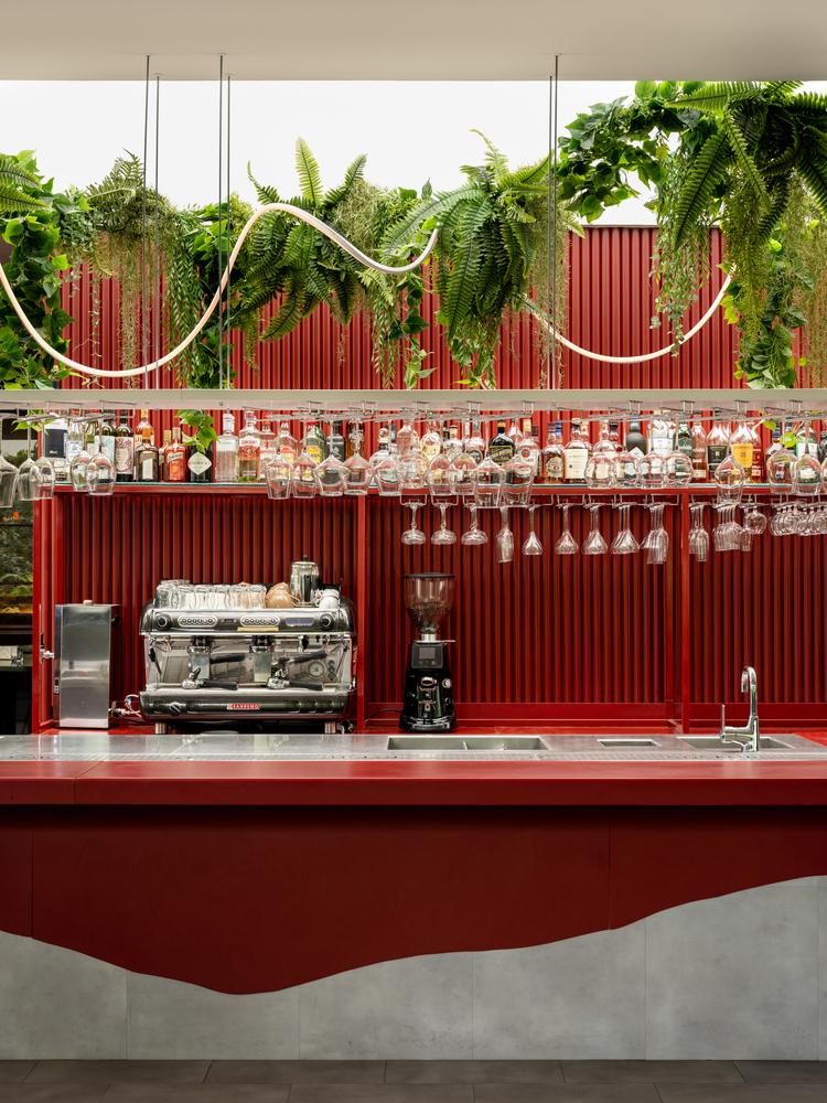 رنگ های مکمل در دکوراسیون رستوران
