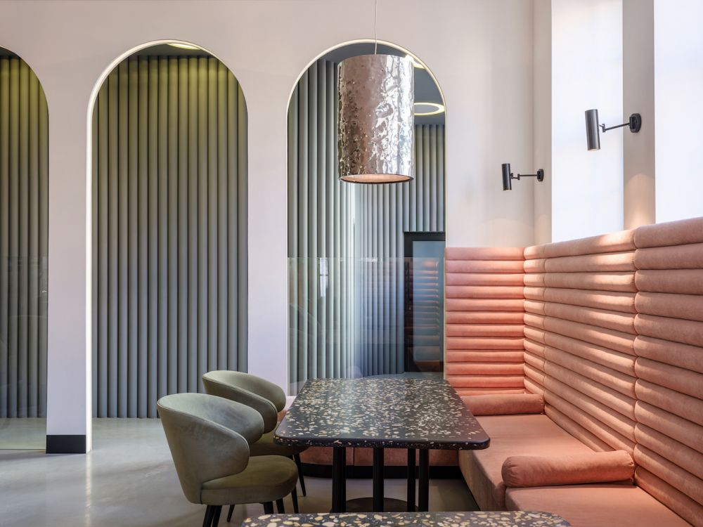 طراحی رستوران ترکی