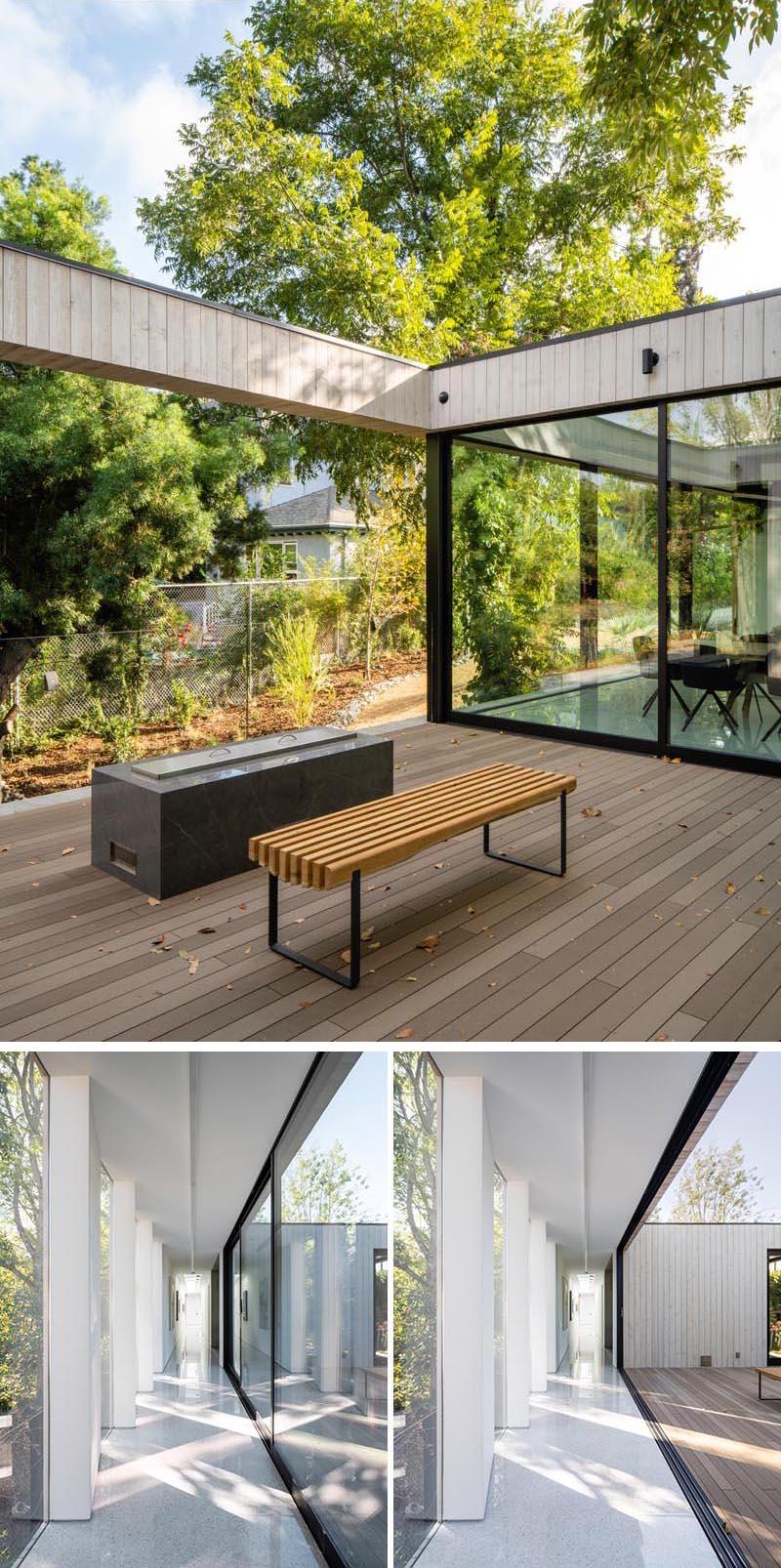 طراحی خانه مدرن و پلی