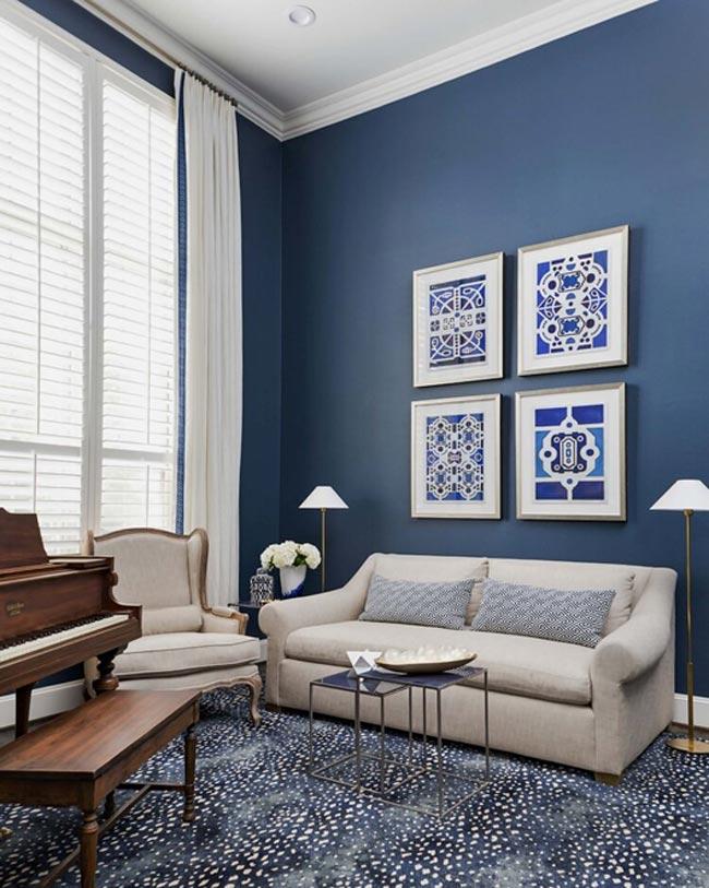 آبی کلاسیک؛ رنگ سال 2020 را در معماری و دکوراسیون داخلی خانه بکار ببریم