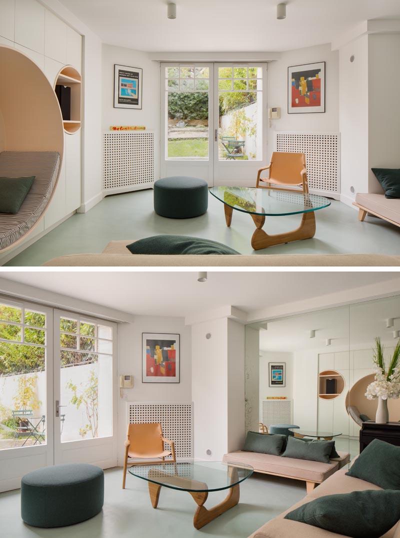 طراحی آپارتمان فرانسوی
