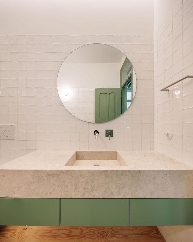 حلقه مدور در طراحی داخلی آپارتمان