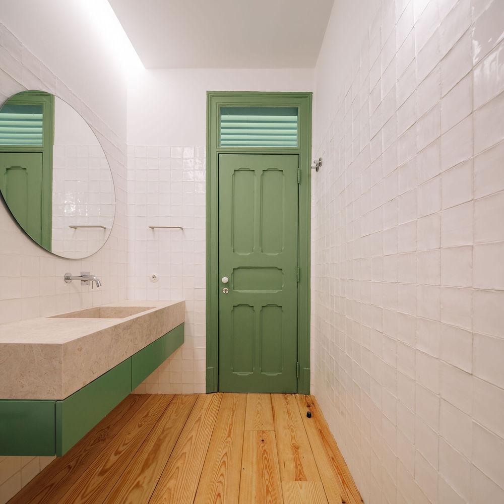 طراحی داخلی آپارتمان با دهانه دایره ایی