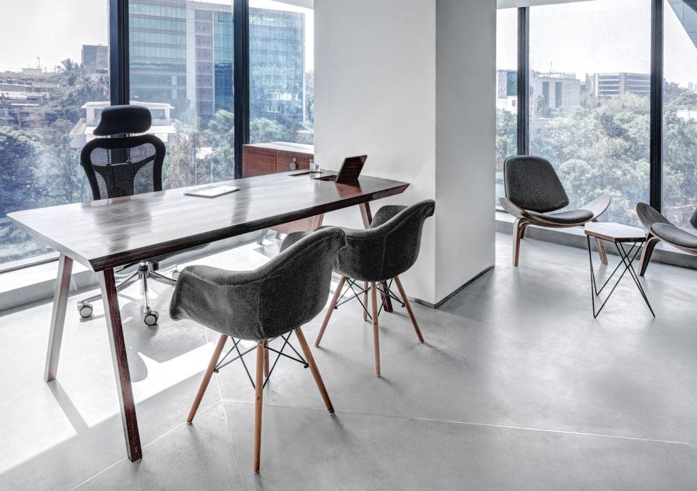 طراحی داخلی دفتر کار شرکت داروسازی