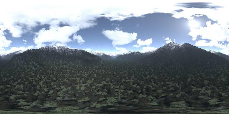 دانلود تصاویر HDRI آسمان