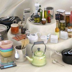 دانلود آرچ مدل 118 – مجموعه آبجکت آشپزخانه