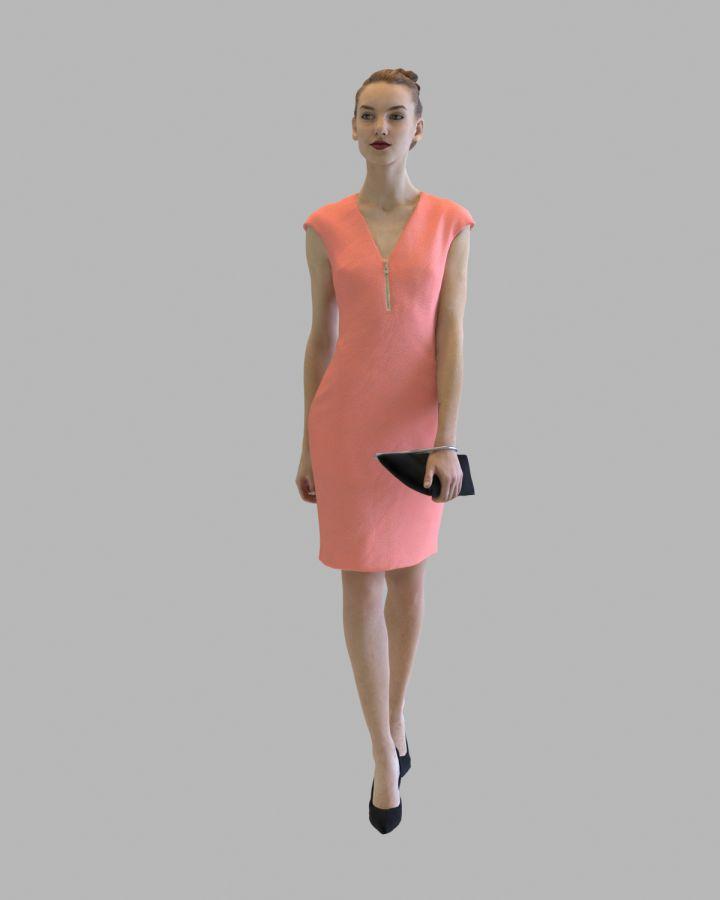 مدل سه بعدی کاراکتر انسان