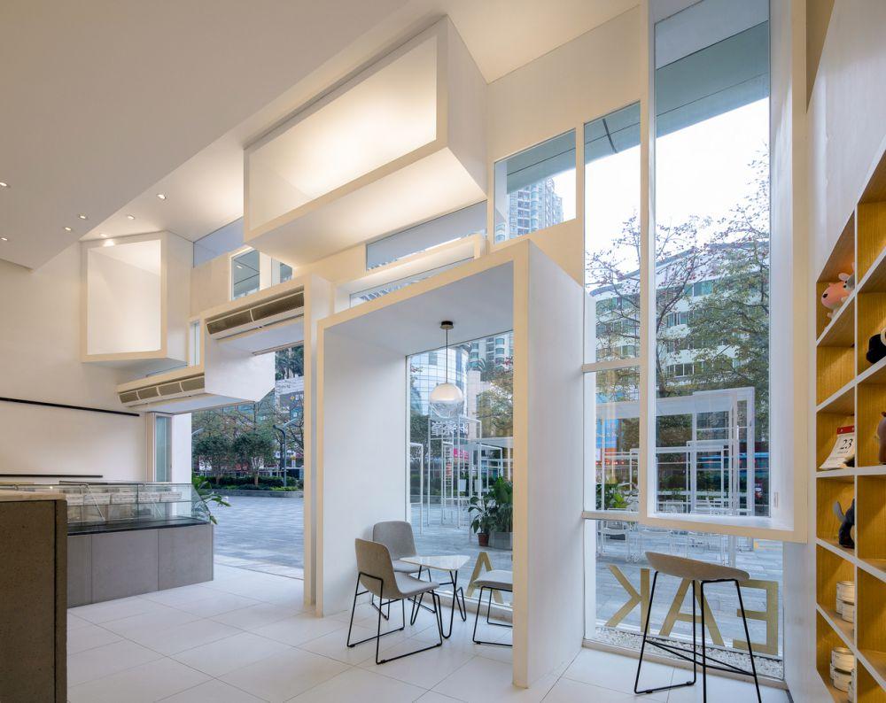 طراحی داخلی فروشگاه و کافه چای