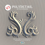 دانلود رایگان پلاگین PolyDetail