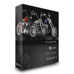 مدل سه بعدی موتورسیکلت – ولوم اول