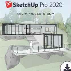 دانلود SketchUp 2020 به همراه پلاگین VRay next 4.20.01