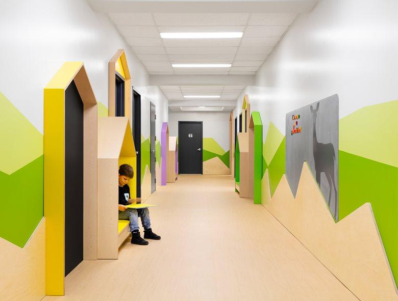 معماری داخلی مهد کودک