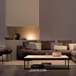 دانلود آبجکت فرنیچر – ARKETIPO Furniture 3D Models