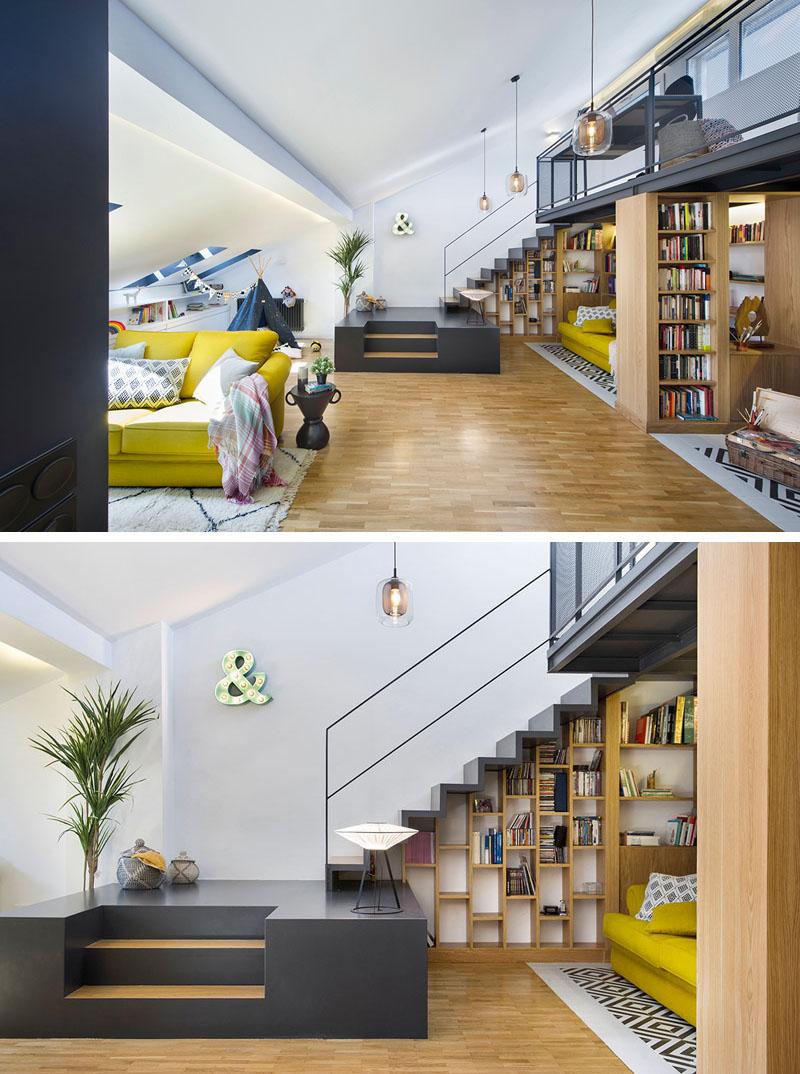 طراحی داخلی خانه زیر شیروانی