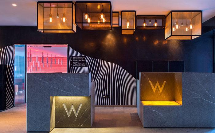 طراحی داخلی هتل کوهستانی مدرن