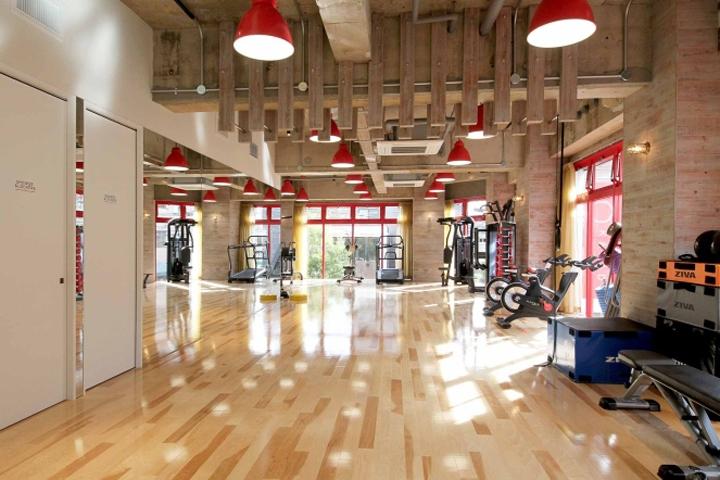 طراحی داخلی باشگاه ورزشی
