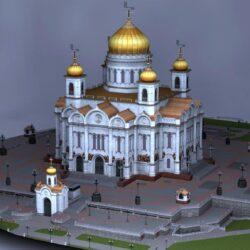 دانلود مدل سه بعدی ساختمان روسی