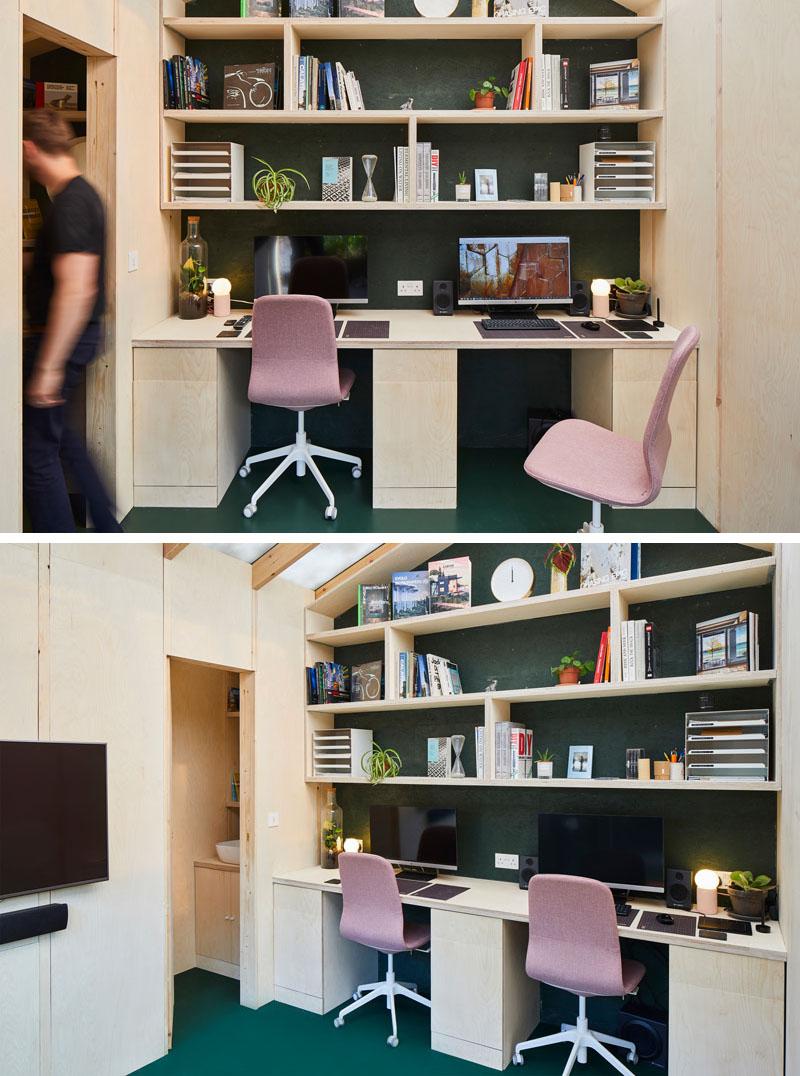 طراحی داخلی دفتر کار کوچک