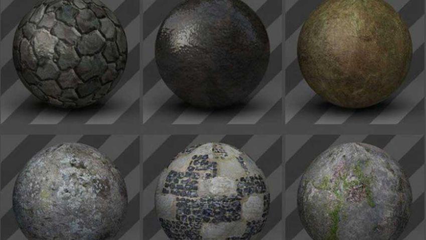 دانلود تکسچر سنگ برای Cinema 4D
