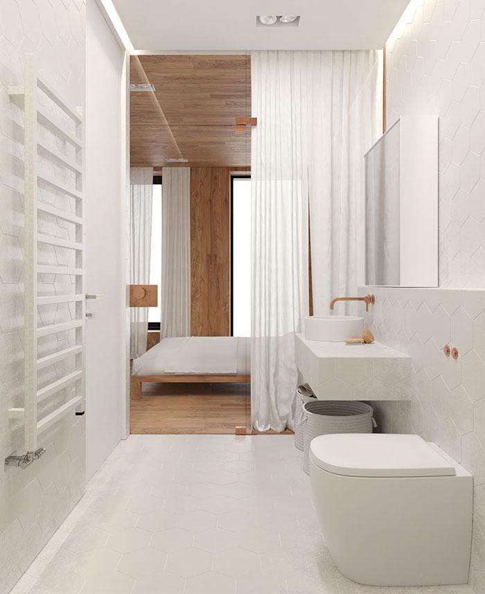 دکوراسیون داخلی آپارتمان به سبک مینیمال