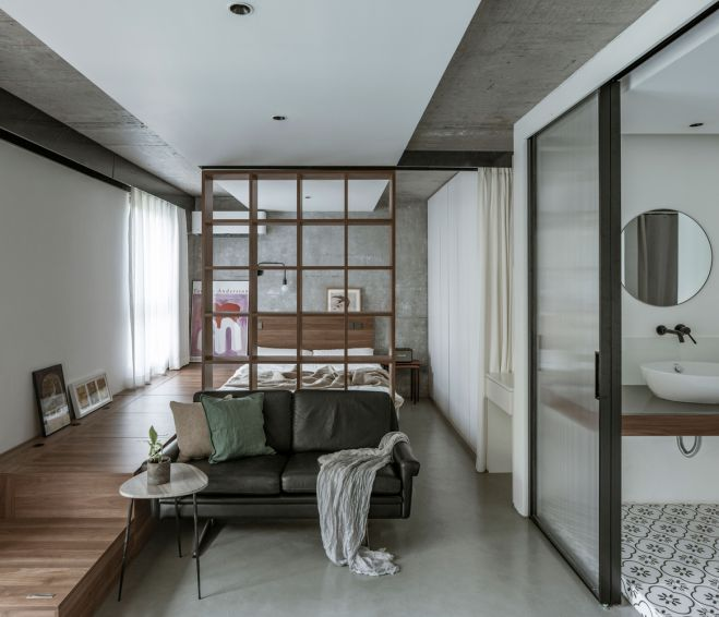 طراحی آپارتمان 43 متری