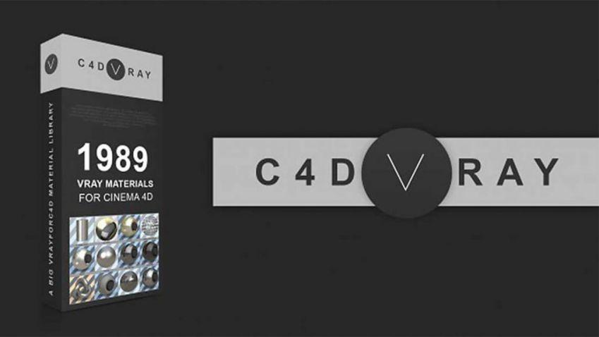 دانلود متریال وی ری برای cinema 4d