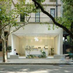 طراحی کافه مینیمال در چین
