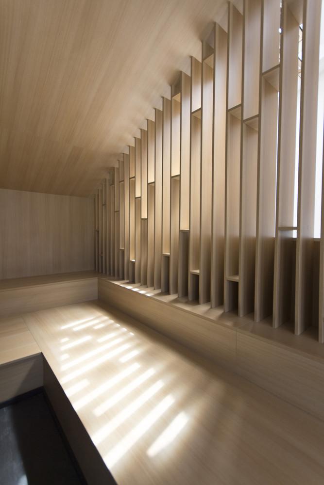 طراحی اتاق زیرشیروانی در مسکو