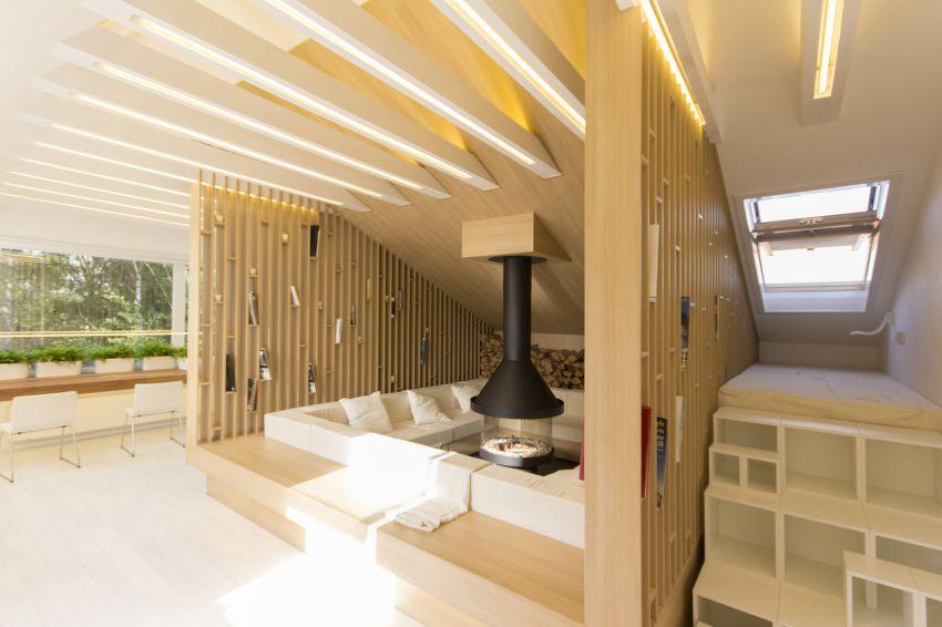 طراحی اتاق زیرشیروانی