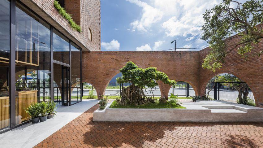 طراحی خانه با آجر