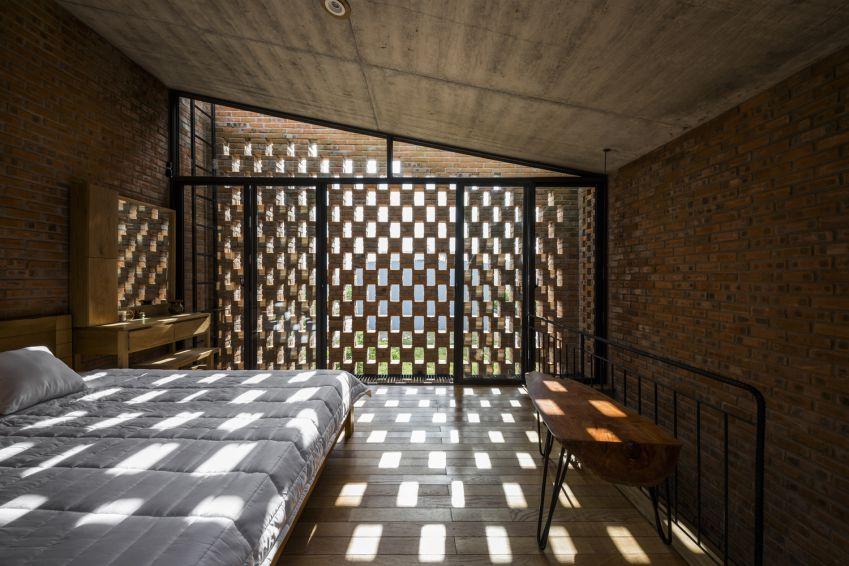 طراحی خانه گرمسیری با بلوک های مجزا