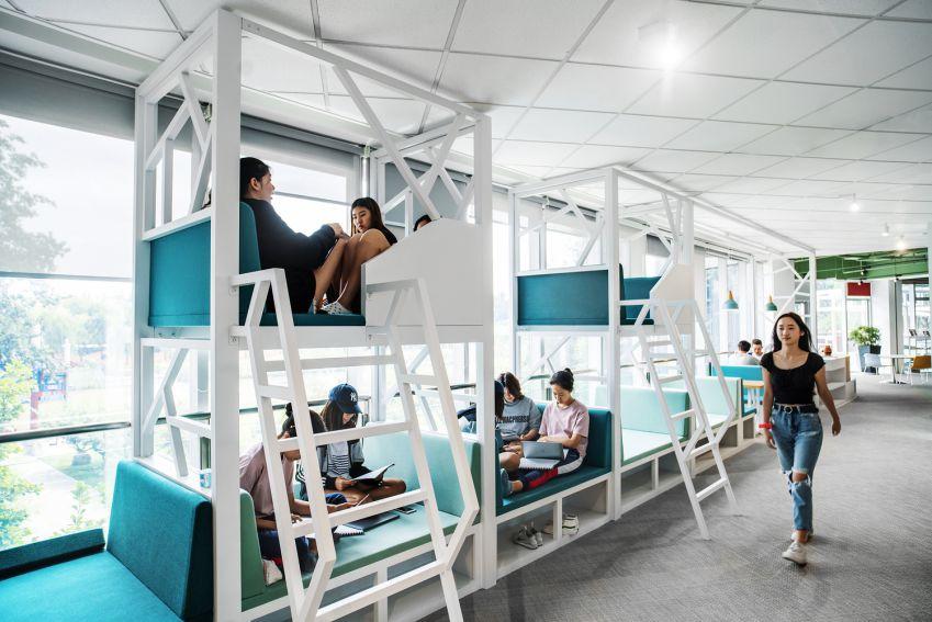 طراحی آکادمی و مدرسه غربی پکن