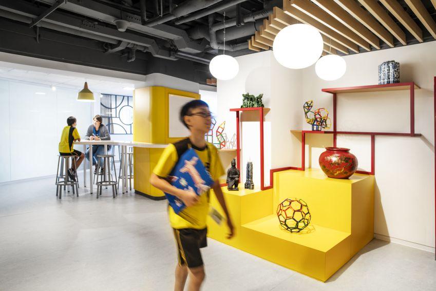 معماری داخلی مدرسه