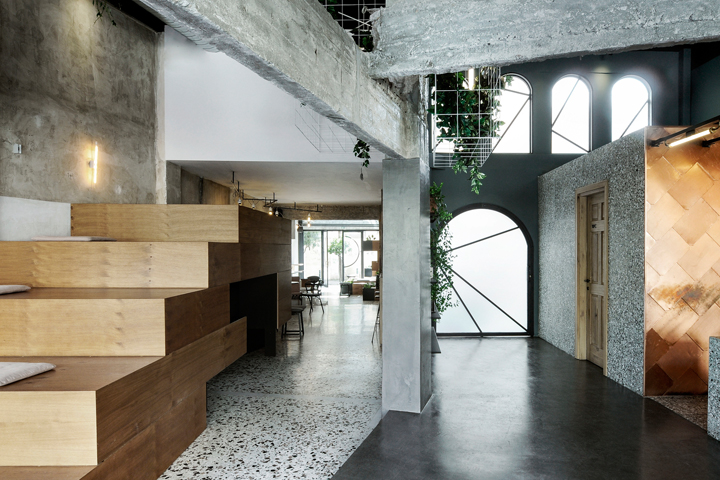 طراحی داخلی کافی شاپ تعاملی