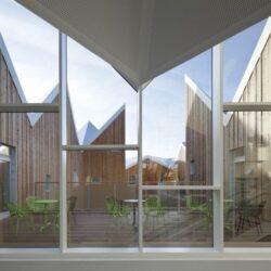 طراحی مرکز سرطان و سلامت در دانمارک