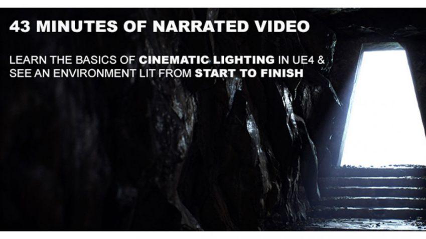 آموزش نورپردازی سینمایی در Unreal Engine