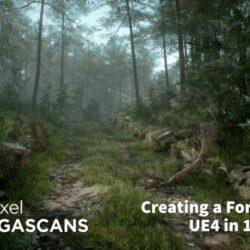آموزش مدل سازی جنگل در Unreal Engine